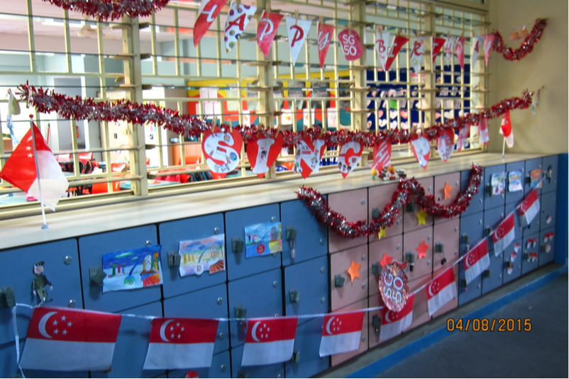 Primary Classroom Decoration ~ National day celebrations
