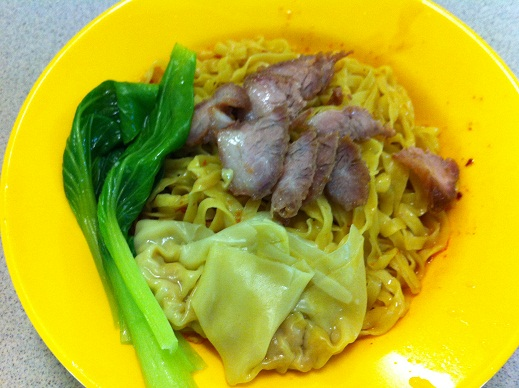 Stall 5 Wanton Noodle